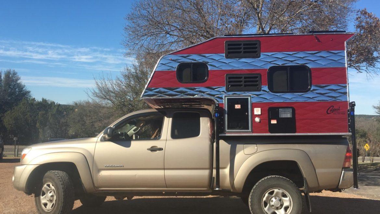capri camper world 39 s best truck camper. Black Bedroom Furniture Sets. Home Design Ideas