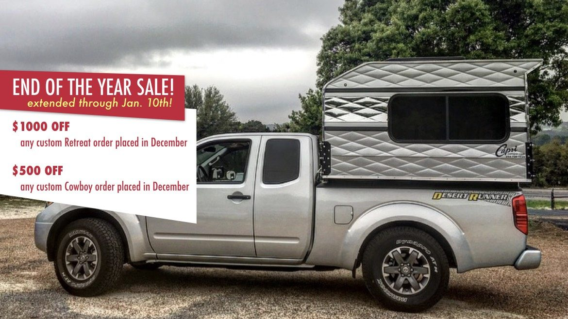 Capri Camper Worlds Best Truck Camper - Truck windshield decals how to purchase and get a great value safely